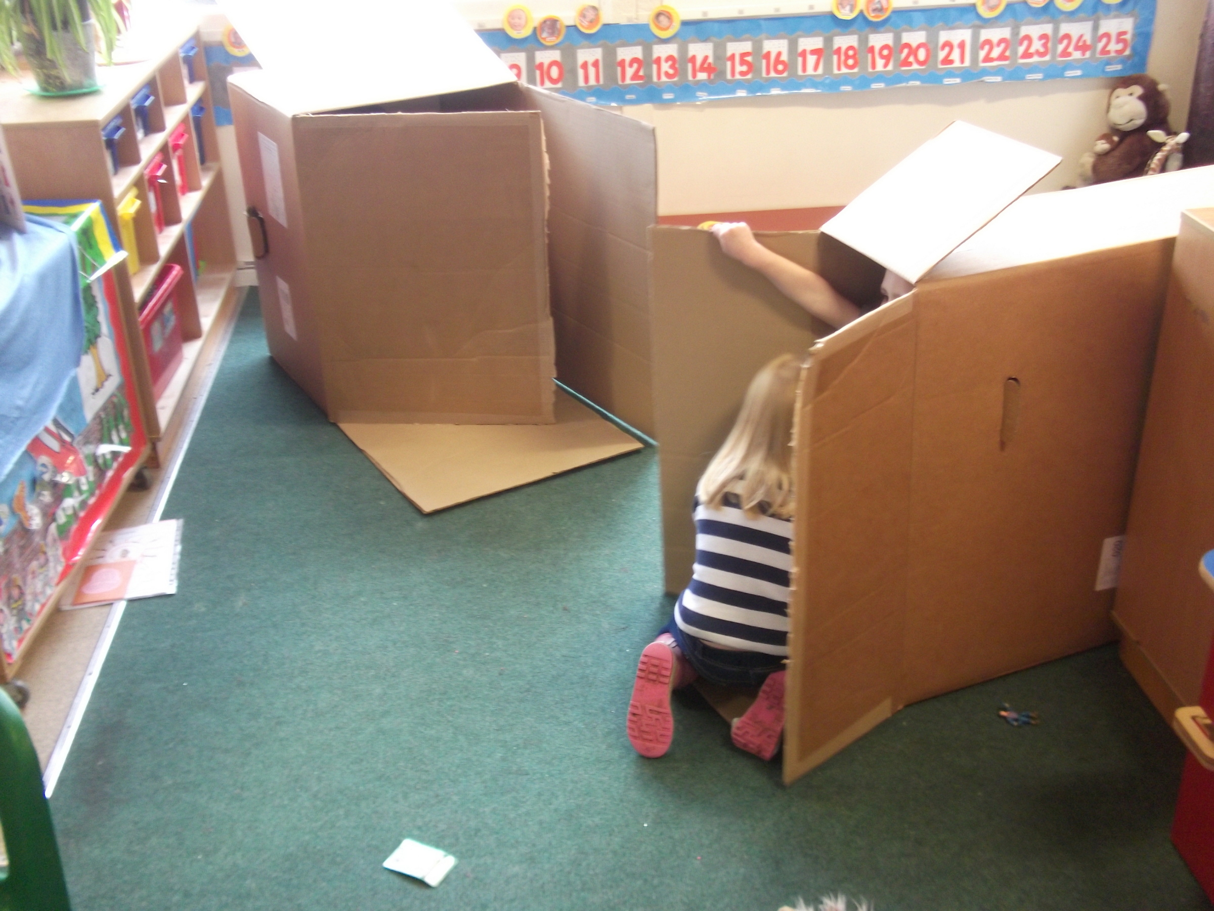 Playing in boxes!